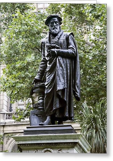 William Tyndale, English Theologian Greeting Card