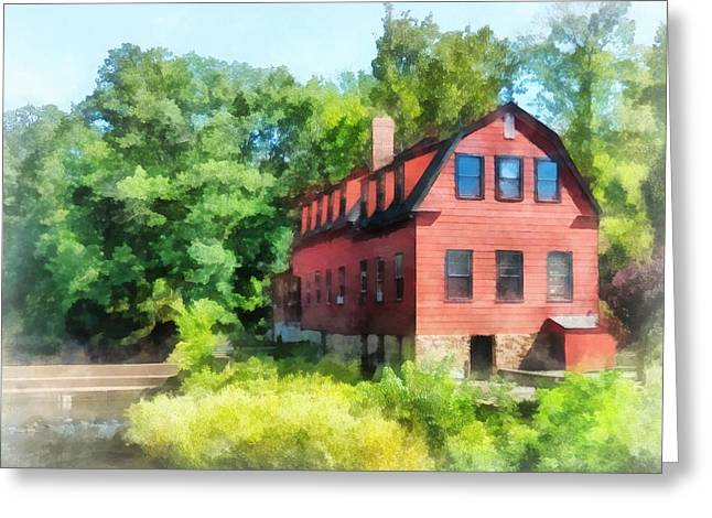 Williams-droescher  Mill Greeting Card by Susan Savad