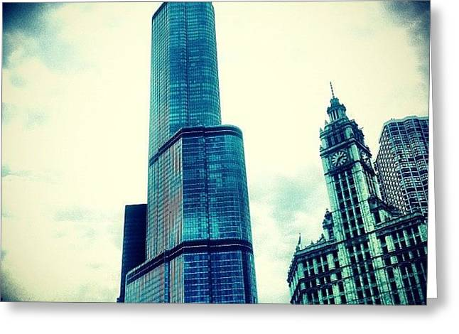 Willis Tower In #chicago Greeting Card