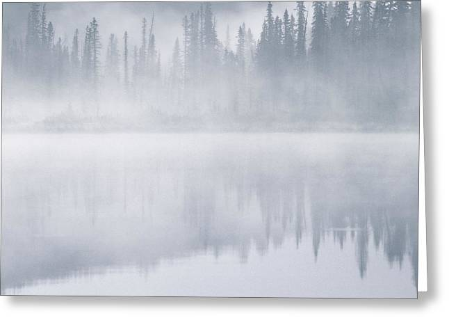 Winchell Lake, Water Valley, Alberta Greeting Card