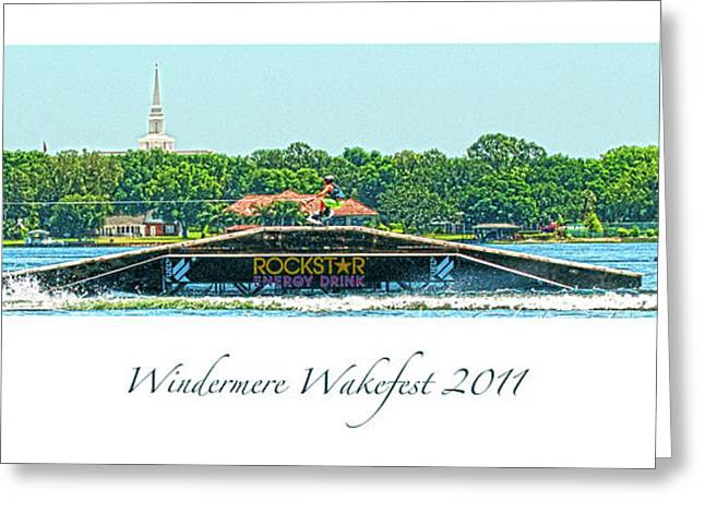 Windermere Wakefest Greeting Card