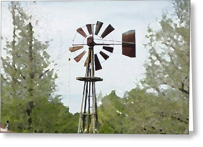 Windmill II, You Can Sell Your Greeting Card by James Granberry