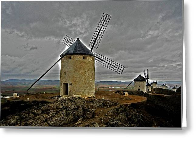 Windmills - Consuegra Greeting Card