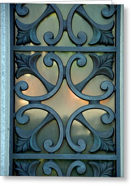 window I Greeting Card by Phil Bongiorno