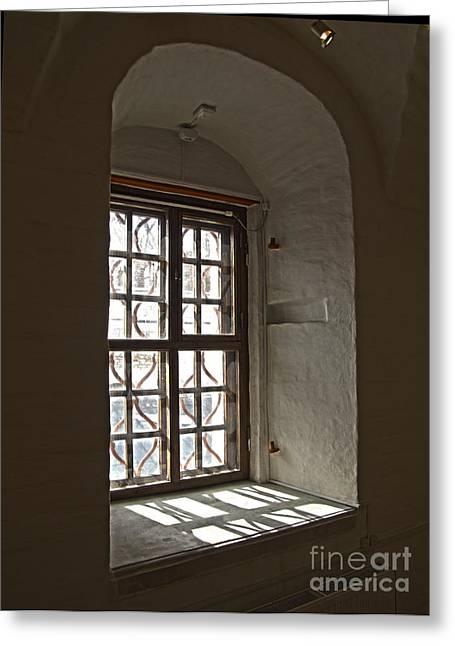 Window Sobor Greeting Card