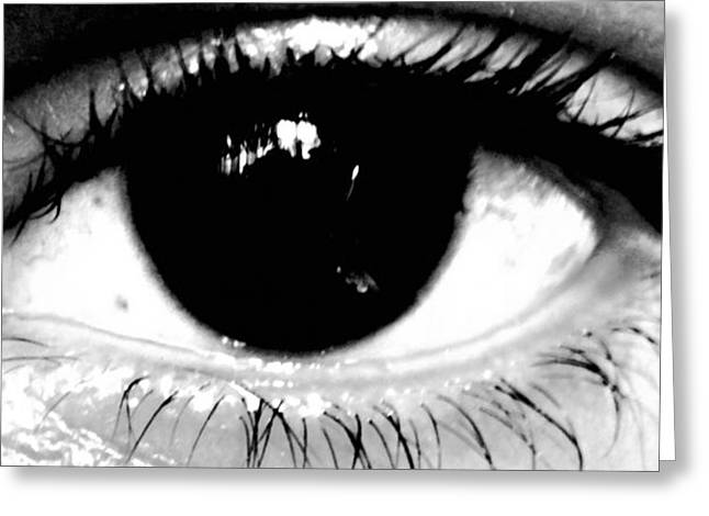 Window To My Soul Greeting Card by Jason Michael Roust