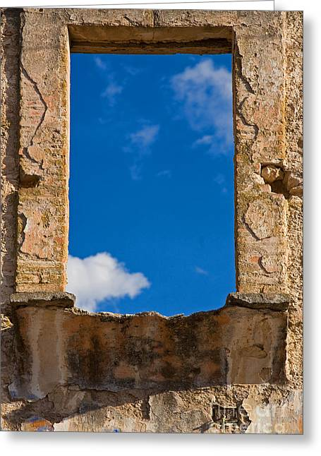 Greeting Card featuring the photograph Window To The Soul - Mexico by Craig Lovell