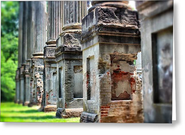 Greeting Card featuring the photograph Windsor Ruins 1 by Jim Albritton