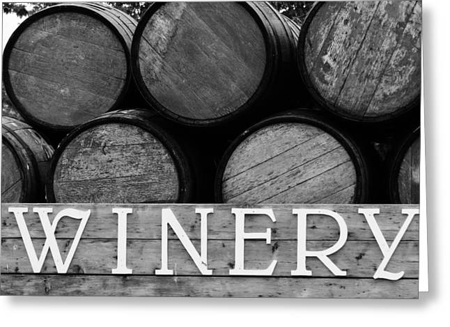 Winery  Greeting Card by Meagan  Visser
