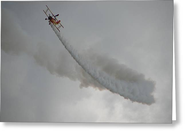 Wing Walker Greeting Card