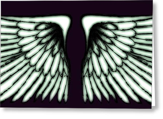 Wings Greeting Card by Sumit Mehndiratta