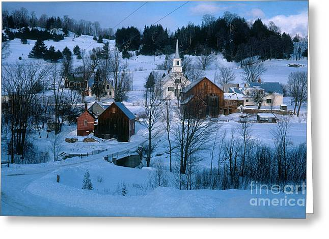 Winter Countryside Greeting Card