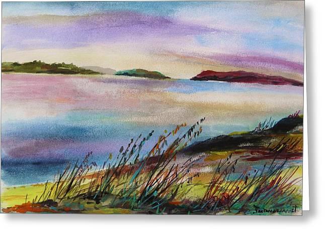 Winter Daybreak By John Williams Greeting Card by John Williams