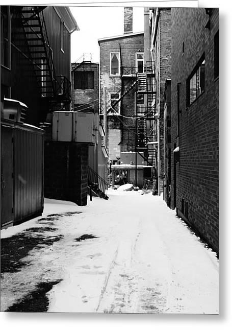Winter Escape Greeting Card by Jonathan Bateman