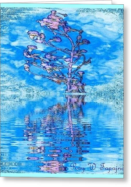 Winter Flowers For You Greeting Card by Ray Tapajna