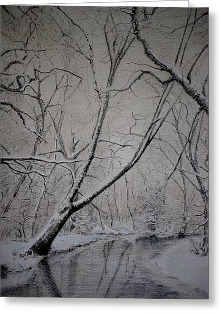 Winter Light Greeting Card