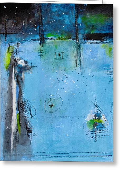 Winter Greeting Card by Nicole Nadeau
