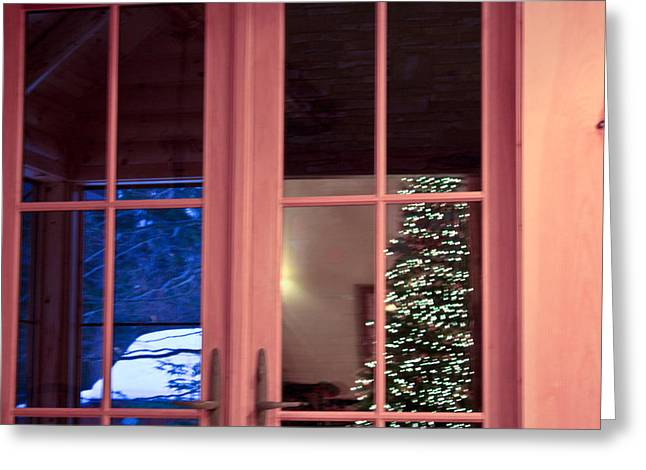 Greeting Card featuring the photograph Winter Reflections  by Ann Murphy