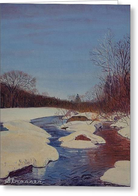 Winter Wonderland Greeting Card by Frank Strasser