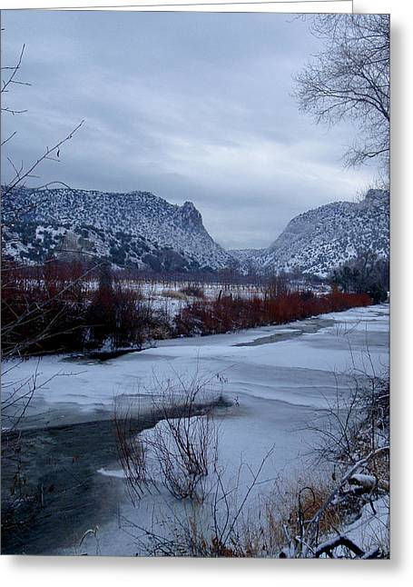Greeting Card featuring the photograph Winters Day by Atom Crawford