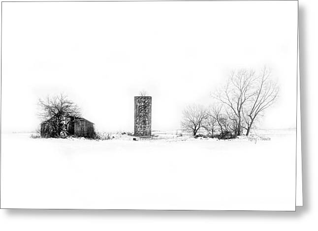 Greeting Card featuring the photograph Winters Vengeance by Mary Timman