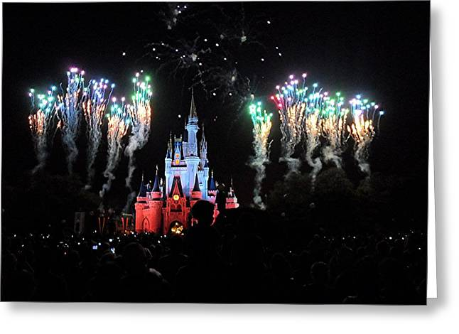 Wishes At The Magic Kingdom Greeting Card