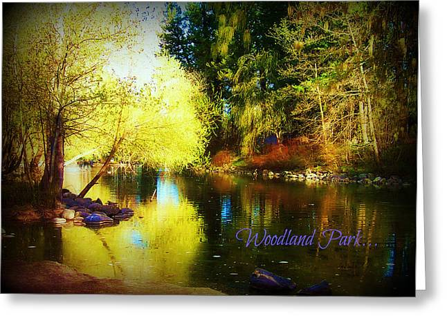 Woodland Park Greeting Card