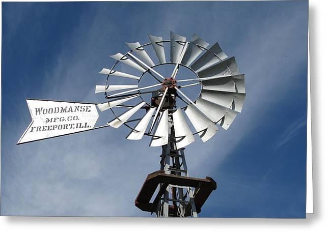 Woodmanse Windmill Greeting Card
