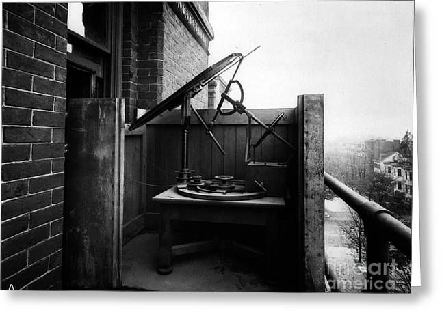 Woodwards Photomicrography Apparatus Greeting Card by Science Source