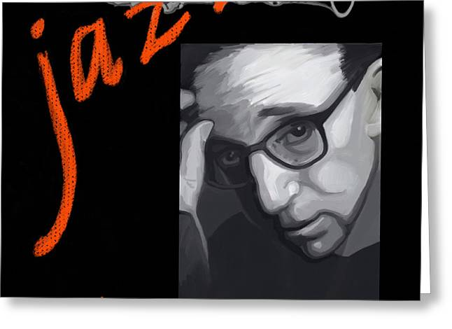 Woody Allen From Wild Man Blues Greeting Card