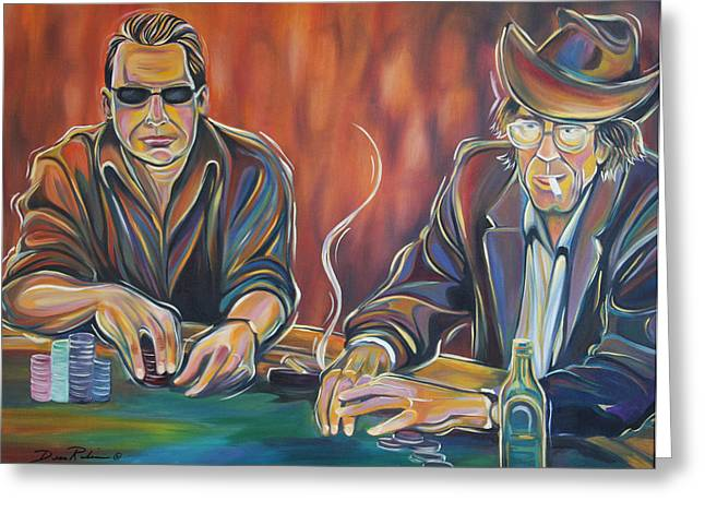 World Series Of Poker Greeting Card by Redlime Art