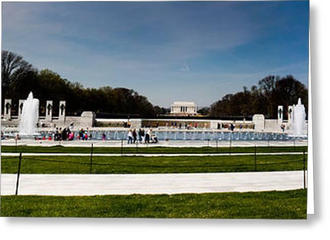 World War II Memorial Washington Dc Greeting Card