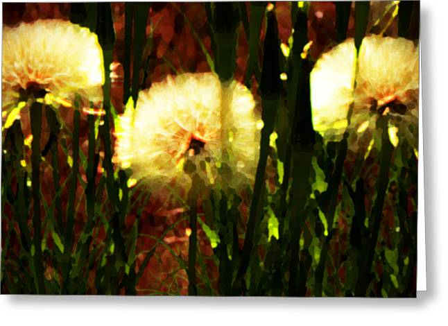 Worlds Within Worlds Greeting Card by Lenore Senior