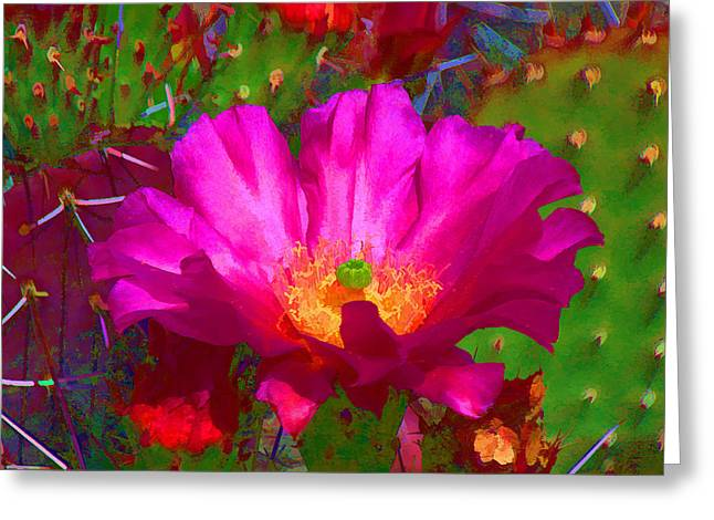 Greeting Card featuring the digital art Worth The Wait II by Brian Davis
