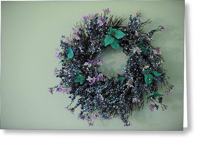 Wreath Greeting Card by Brandon McNabb