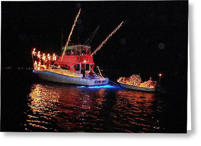 Wrightsville Beach Flotilla Greeting Card