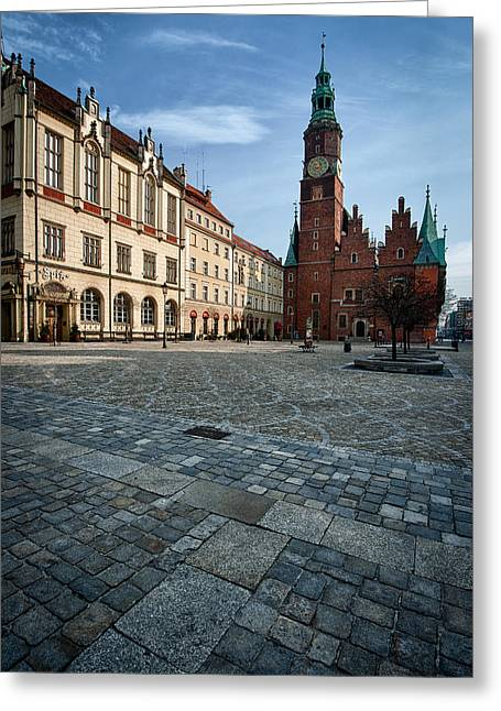 Wroclaw Town Hall Greeting Card