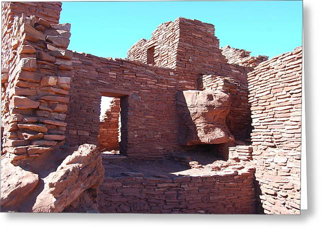 Wupatki Ruins Greeting Card