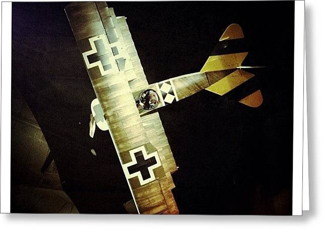 Ww1 Curtiss Jn-4d Jenny Greeting Card
