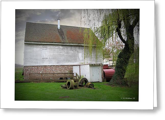 Wye Mill Greeting Card by Brian Wallace