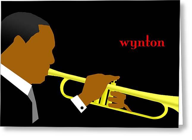 Wynton Marsalis Greeting Card