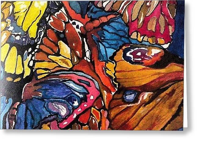 Butterflies Wings........ Greeting Card