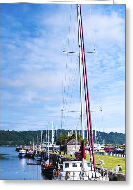 Yacht  Greeting Card by Svetlana Sewell