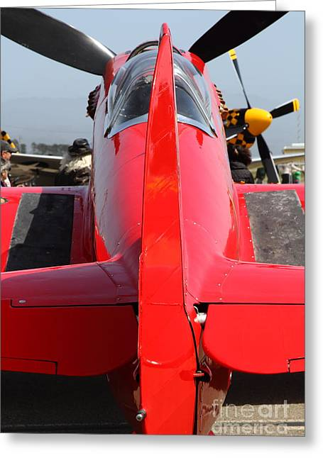 Yak 9u Airplane . 7d15803 Greeting Card by Wingsdomain Art and Photography