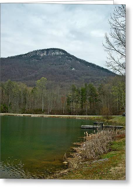 Yanoh Mountain 4 Greeting Card by Douglas Barnett