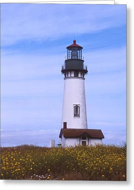 Yaquina Head Lighthouse Greeting Card