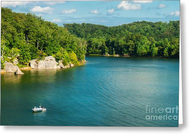 Yatesville Lake Greeting Card