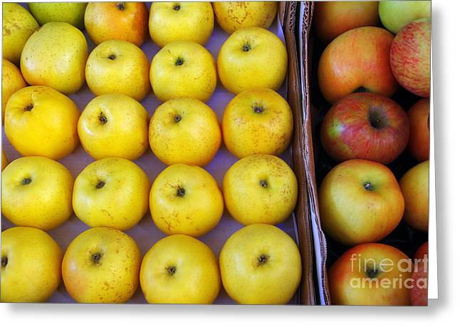 Yellow Apples Greeting Card