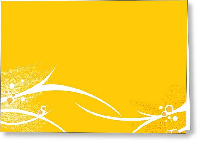 Yellow Twigs Greeting Card