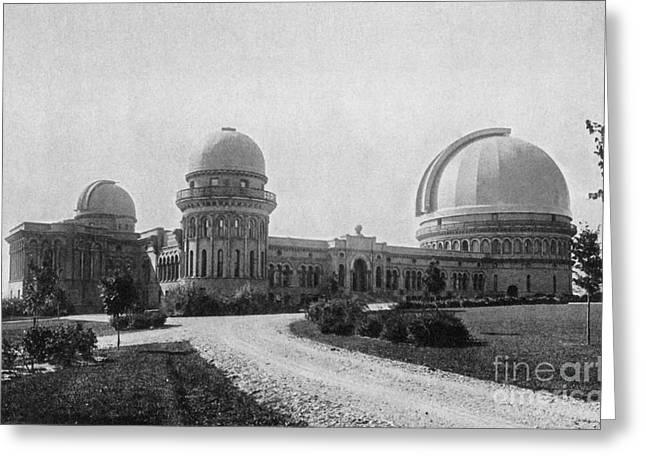 Yerkes Observatory, Wisconsin Greeting Card by Science Source